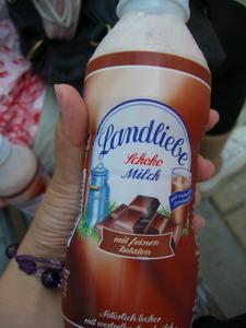 巧克力奶昔~很濃很好喝
