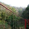 上山前一個很漂亮的吊橋