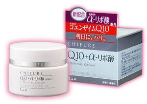 CHIFURE Q10+α-リポ酸ESSENTIAL CREAM夜用保溼乳霜