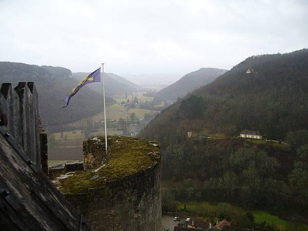 Castelnaud 21 drapeau