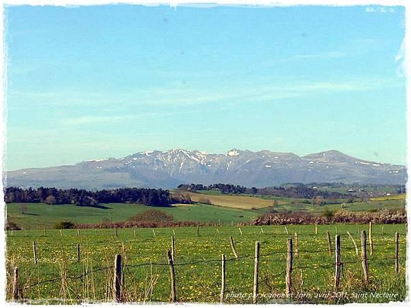 1 paysage de la montagne