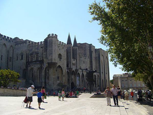 Avignon Palais de pape