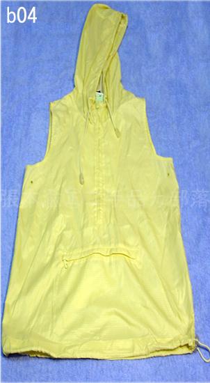 編號:20  冬天防風夏天涼快 超可愛 黃色連帽背心