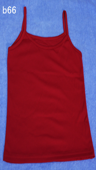 編號:62  簡單的內搭紅色背心