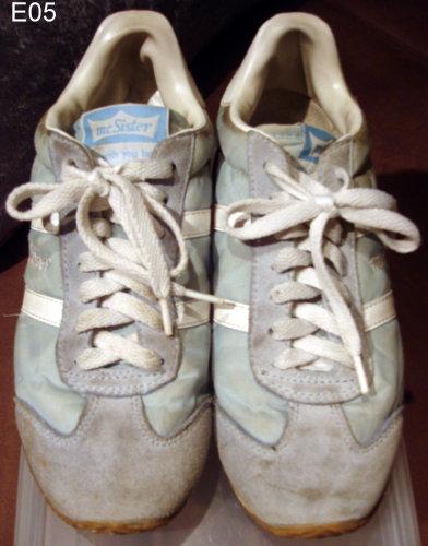 編號:101  購自日本 Mc sister復古水藍球鞋