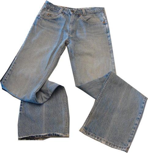 編號:124  刷白直筒牛仔褲 基本款
