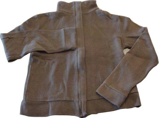 編號:127  橄欖色細毛巾布 氣溫只有18度也不怕