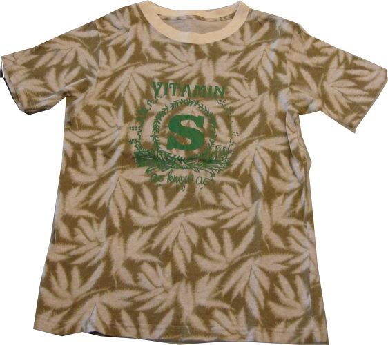 編號:129 大麻大麻 中性T-Shirt 適合有個性的女生