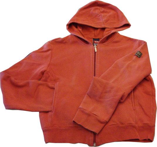 編號:140  購自美國 橘紅色 左肩有Diesel小臂章