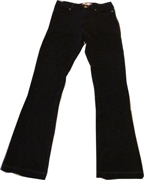 編號:163  購自美國 超細綿質合身喇叭褲 可單穿也可內搭