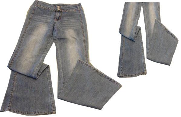 編號:172  彈性合身喇叭褲 可修飾腿型 性感又好穿