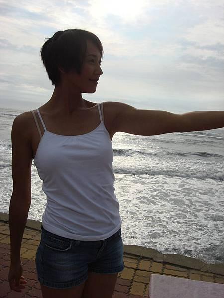 台南的海邊