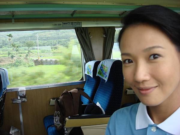 去花蓮的火車上