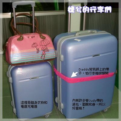 婕兮的行李們