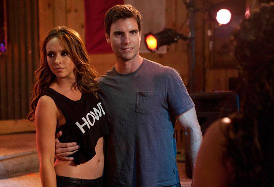 Colin Egglesfield with Jennifer Love Hewitt in The Client List