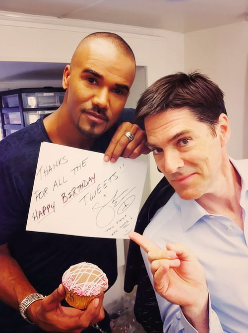 Thomas Gibson with Shemar Moore