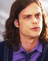 Matthew Gray Gubler is Dr. Spencer Reid