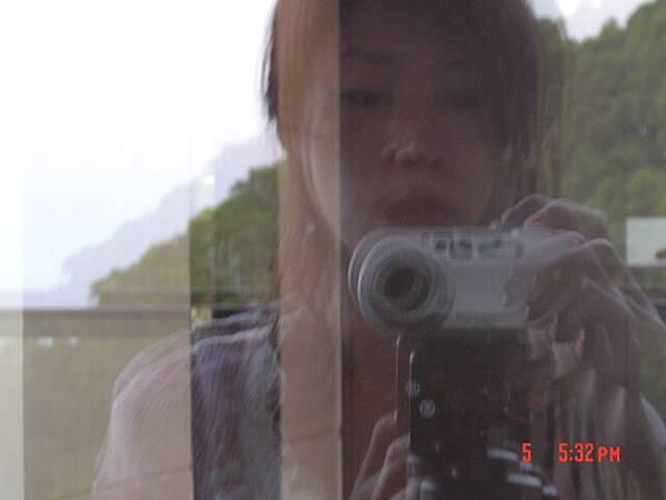 日光海岸的觀景台上我和我的相機-1