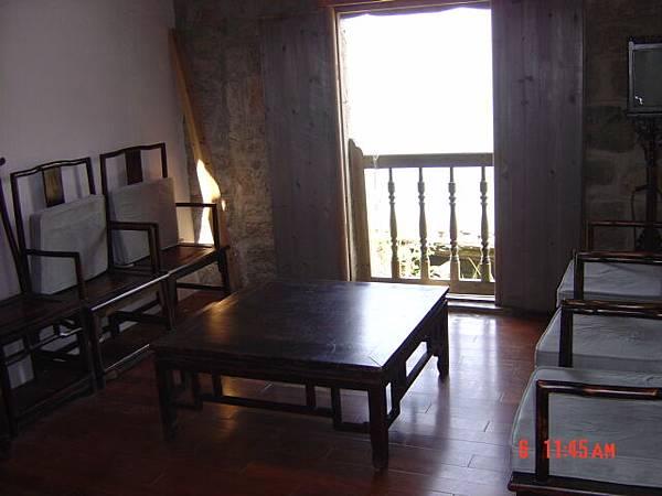 北竿芹壁地中海民宿的永康居二樓客廳