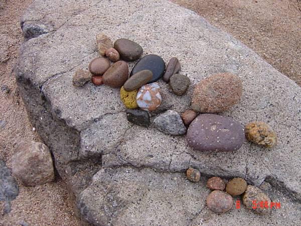芹壁海灘的寶物