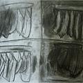香蕉素描-繪畫-小班