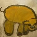 水墨金豬-繪畫-中班