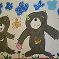 台灣黑熊-繪畫-中班