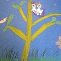 母子鳥-繪畫-中班