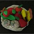 水果盤-捏塑-中班