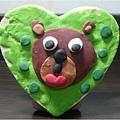 熊熊置物盒-捏塑-中班