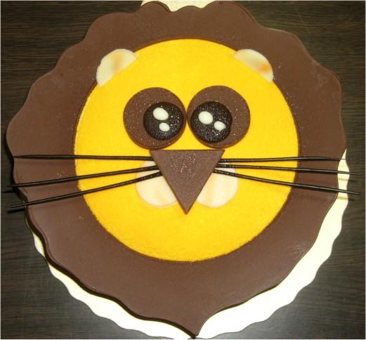 獅子王蛋糕