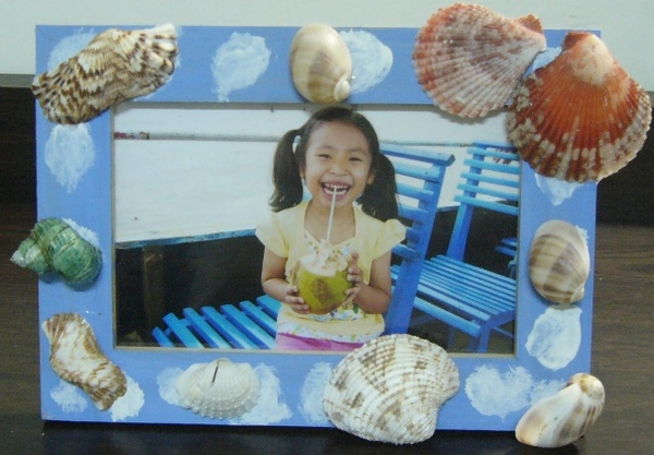 貝殼相框-手作-中班