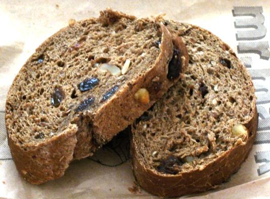 雜糧麵包切片