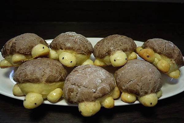 巧克力奶酥菠羅小烏龜