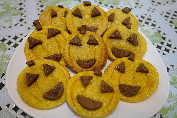 南瓜餅乾1