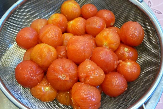 梅汁漬番茄2