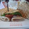 機場的午餐1