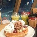 東大門DOOTA 5樓-連鎖鬆餅咖啡店2