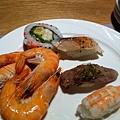 鮮蝦+握壽司