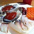 生蠔+生魚片