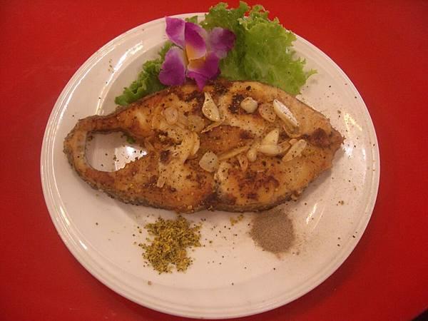 香蒜鱈魚排