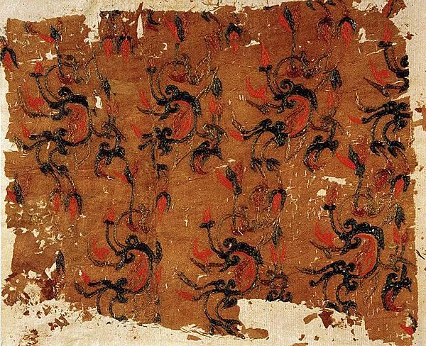 茱萸紋文物