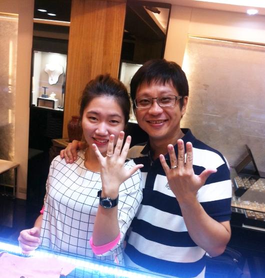 樣多儷幸福見證,原來挑選婚戒是這麼幸福的一件事!