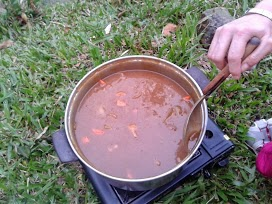 咖哩鍋晚餐