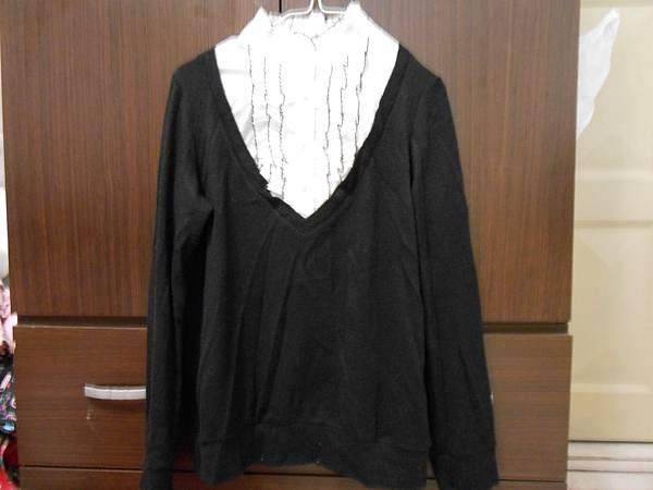 黑色氣質上衣