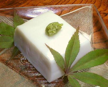 葛胡麻豆腐