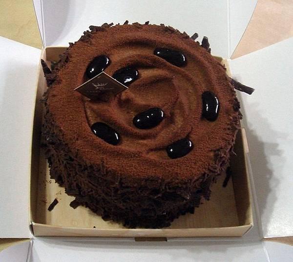 巧克力香蕉蛋糕。金礦咖啡店.jpg