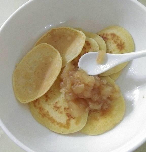 鬆餅、蘋果醬.jpg