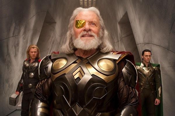 雷神索爾-Thor-之父-奧丁