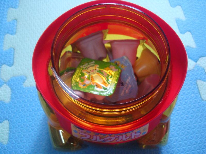 維尼桶內是果凍